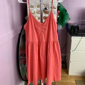 PINK SUMMER DRESS SZ 1X BY FOREVER 21+